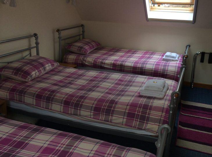 Room 4 is a quadruple room.