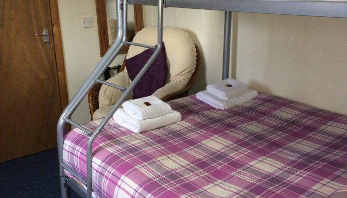 Room 1 is a triple room