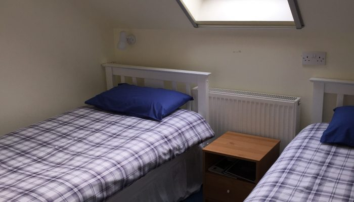 Room 8 is a twin bedded room