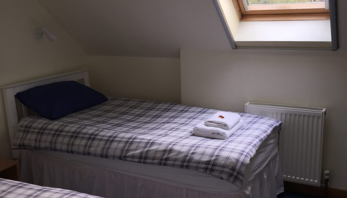 Room 12 is a twin bedded room.