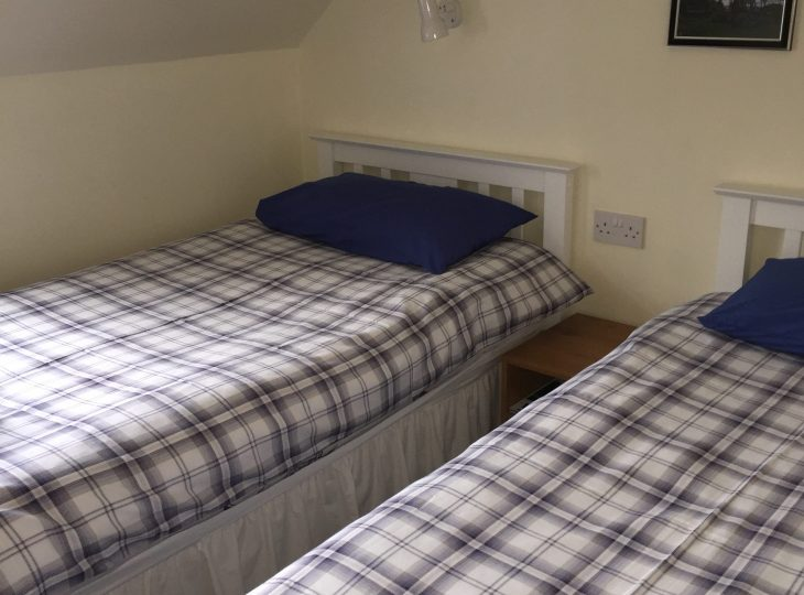 Room 10 is a twin bedded room.